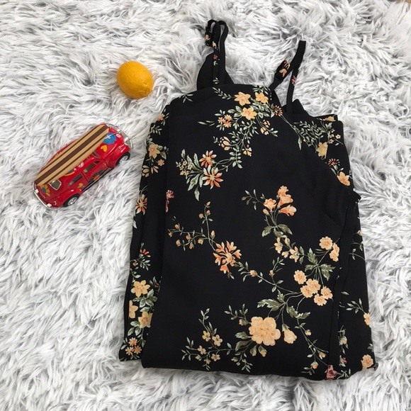 Xhilaration Dresses & Skirts - Floral jumpsuit